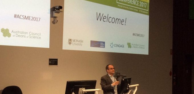 Professor Jordan Nash opens ACSME 2017