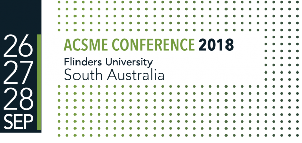 ACSME 2018 - now taking submissions and registrations are open!