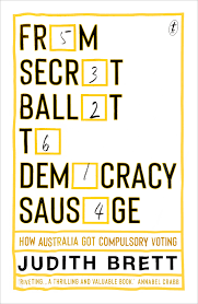 Cover of democracy sausage book