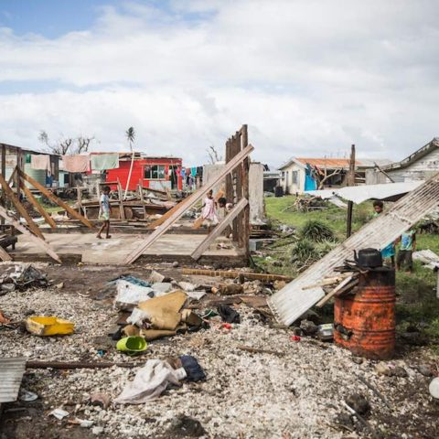Cyclone Winston – a Category 5 storm – devastated Fiji in 2016 (Photo: GFDRR/World Bank Disaster Risk Management/Flickr)