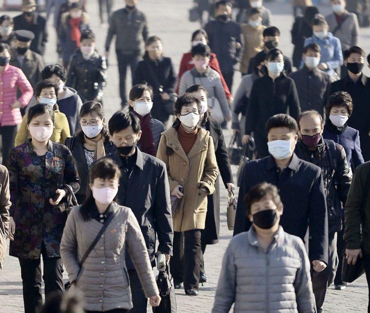 Anti-coronavirus efforts in North Korea, 3 April 2020.