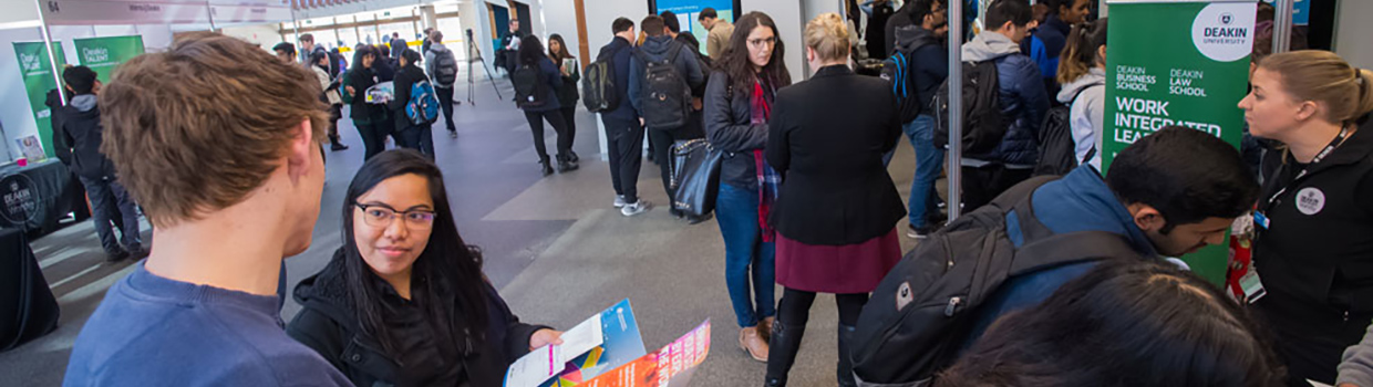 experience and employment expo  u2013 deakintalent