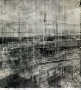 Michael Wesely, 'Potsdamer Platz, Berlin'