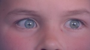Young Cole's eyes
