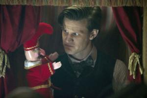 Matt Smith as the Doctor.