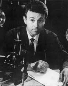 William Russell as Ian Chesterton.