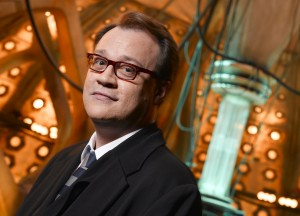 Doctor Who fan and series writer and producer, Russell T Davies.