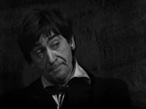 Patrick Troughton as the Doctor.