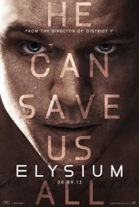 Elysium 'Save' poster