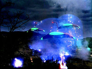 Spectacular effects in War of the Worlds (1953)