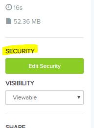 Edit Security