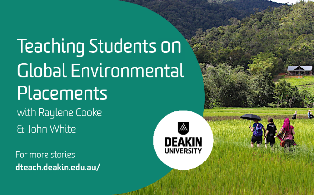 Teaching Students on Global Environmental Placements with Raylene Cooke and John White