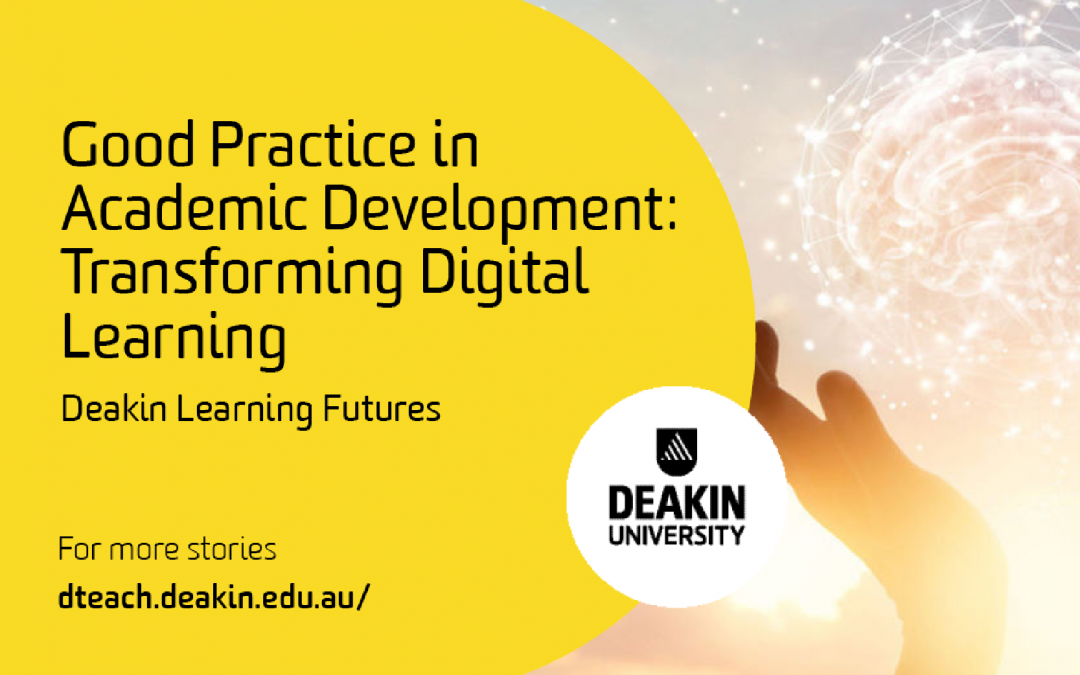 Good Practice in Academic Development – Transforming Digital Learning
