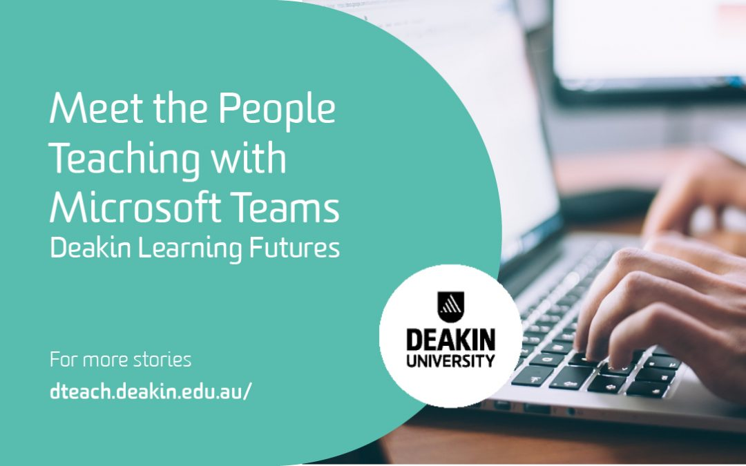 Meet the People Teaching with Microsoft Teams