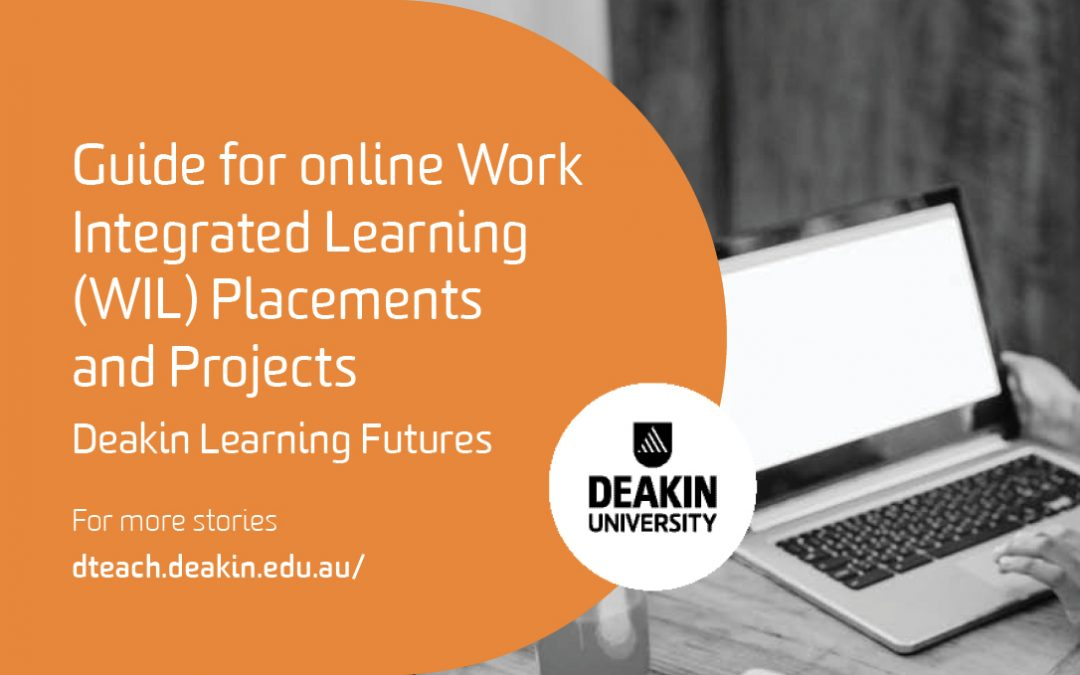 Guide for online Work Integrated Learning (WIL) Placements and Projects