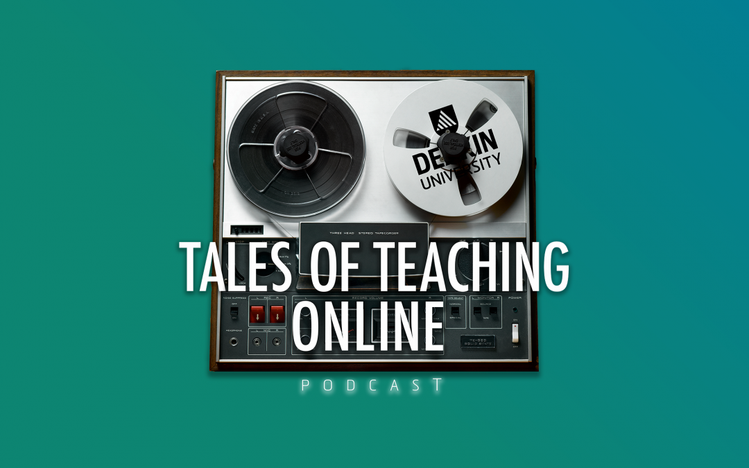 Tales of Teaching Online – New Podcast