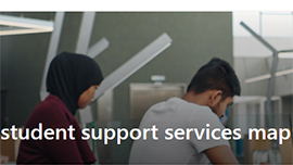 New Induction Resource for Teaching & Learning Staff: Deakin Student Support Services Map